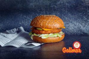 vegetariansky burger